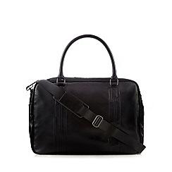 Jeff Banks - Black stitched large holdall bag
