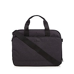 Jeff Banks - Dark grey laptop bag