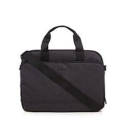J by Jasper Conran - Dark grey laptop bag