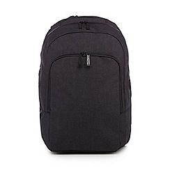 J by Jasper Conran - Dark grey melange backpack