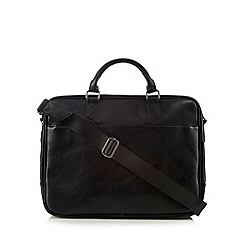 J by Jasper Conran - Black large business bag