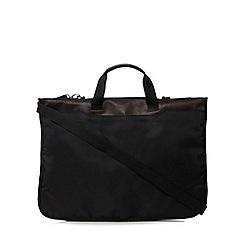 J by Jasper Conran - Black geometric textured suit carrier