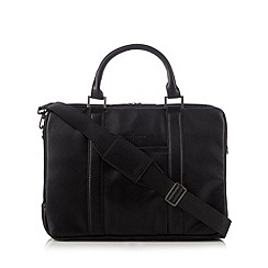 J by Jasper Conran - Black two handle business bag
