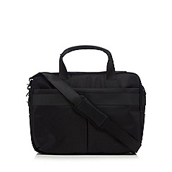 J by Jasper Conran - Black large briefcase