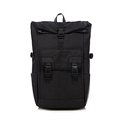 Jeff Banks - Black front pocket backpack