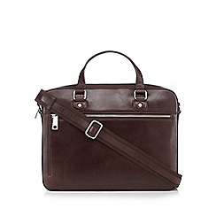 Hammond & Co. by Patrick Grant - Brown leather flight bag