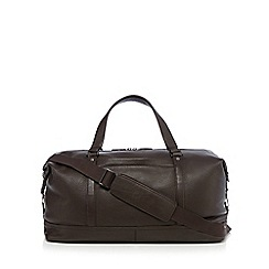 J by Jasper Conran - Brown leather holdall bag