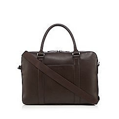 J by Jasper Conran - Brown leather briefcase