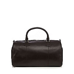RJR.John Rocha - Brown leather holdall bag