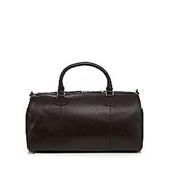 RJR.John Rocha - Brown leather holdall bag