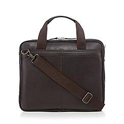 RJR.John Rocha - Brown leather despatch bag