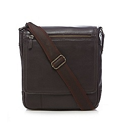 RJR.John Rocha - Brown leather utility bag
