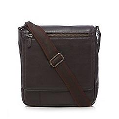 RJR.John Rocha - Brown leather utility bag