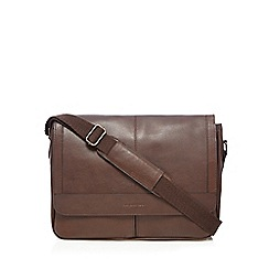 RJR.John Rocha - Brown leather despatch bag