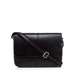 Hammond & Co. by Patrick Grant - Black leather despatch bag