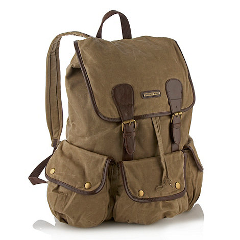 Weird Fish - Natural waxed backpack