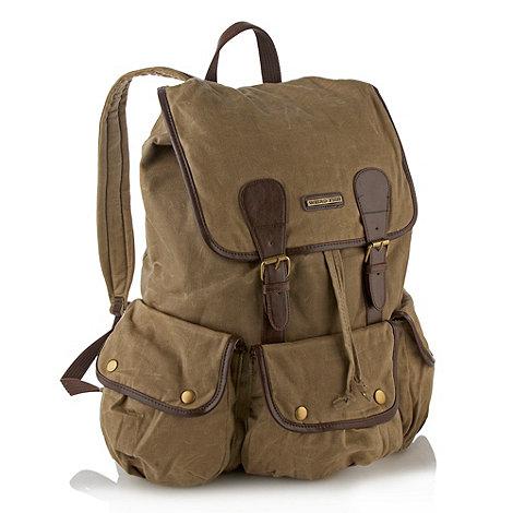 Weird Fish - Natural waxed backpack