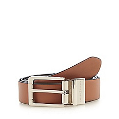 J by Jasper Conran - Black and tan reversible leather belt
