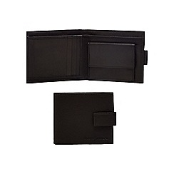 J by Jasper Conran - Black waxy tab wallet