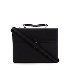 Hammond & Co. by Patrick Grant - Black leather briefcase