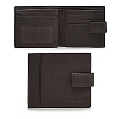 RJR.John Rocha - Brown leather billfold wallet