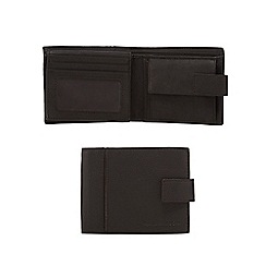RJR.John Rocha - Brown leather coin pocket wallet