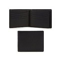 Dents - Black embossed logo wallet