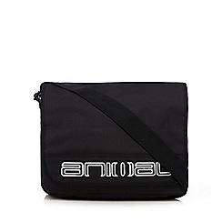 Animal - Black logo applique despatch bag