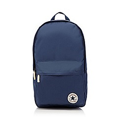 Converse - Navy 'All Star' applique backpack