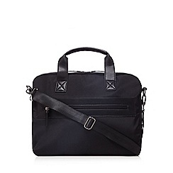 The Collection - Black two handle bag