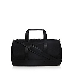 The Collection - Black rounded holdall bag