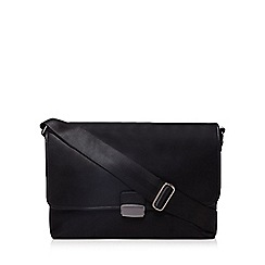 The Collection - Black large despatch bag