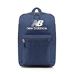 New Balance - Navy logo printed backpack