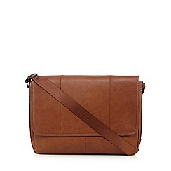 The Collection - Tan fold over despatch bag