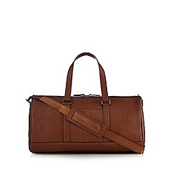 The Collection - Tan large holdall bag