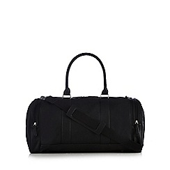 Red Herring - Black large weekender bag