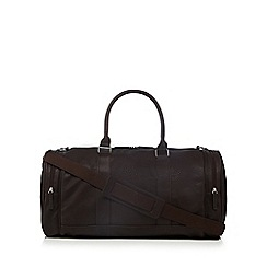 Red Herring - Brown PU gym bag
