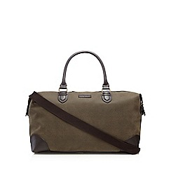 J by Jasper Conran - Brown textured holdall bag