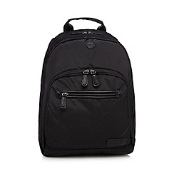 J by Jasper Conran - Black laptop slot backpack