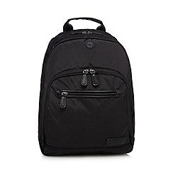 J by Jasper Conran - Black laptop slot backpack