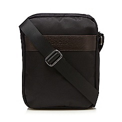Jeff Banks - Black textured cross body bag