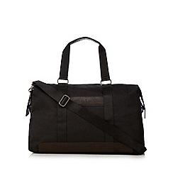 Jeff Banks - Black textured holdall bag