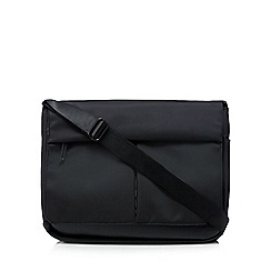 Jeff Banks - Black padded laptop bag