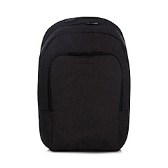 Jeff Banks - Dark grey textured backpack