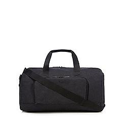 Jeff Banks - Dark grey textured holdall bag