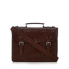 Hammond & Co. by Patrick Grant - Brown leather briefcase