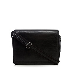 Hammond & Co. by Patrick Grant - Black leather despatch bag
