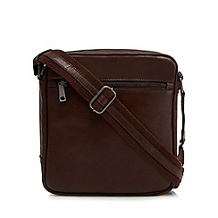Hammond & Co. by Patrick Grant - Brown leather cross body bag