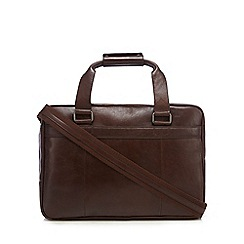 Hammond & Co. by Patrick Grant - Brown leather two handle bag