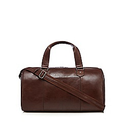Hammond & Co. by Patrick Grant - Brown leather holdall bag